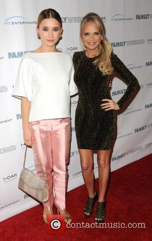 Kristin Chenoweth and Olesya Rulin - New York special screening of 'Family Weekend' - Arrivals - New York, United States...