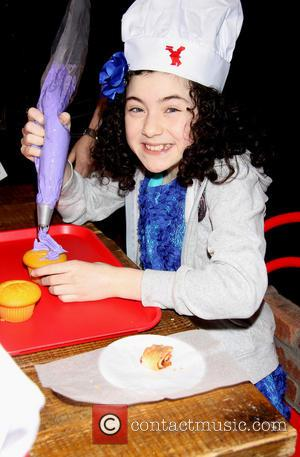 Lilla Crawford - Annie star, Lilla Crawford's 12th Birthday Party held at the Cake Boss Café in Times Square -...