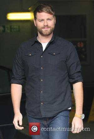 Brian Mcfadden Attends Uncle's Funeral