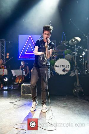 Dan Smith and Bastille - London based indie-pop band Bastille performing live at Shepherds Bush Empire - London, United Kingdom...