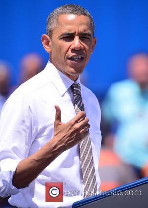 Barack Obama - U.S. President Barack Obama speaks at Miami...