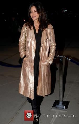 Gina Gershon - New York premiere of 'Trance' hosted by the Cinema Society & Montblanc at SVA Theater- Outside Arrivals...