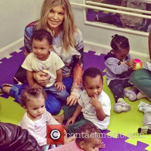 Fergie Visits Charity School In Brazil
