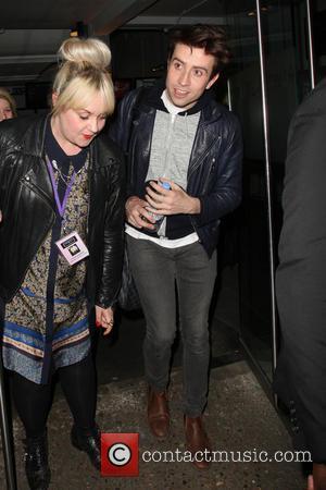 Nick Grimshaw - 'Celebrity Juice' celebs