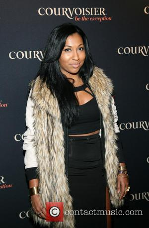 Melanie Fiona - Courvoisier kick's off 'Courvoisiology' wiith Award-winning songstress Kelly Rowland at SIR Stage 37 - Arrivals - New...