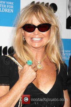 Goldie Hawn - Marty Richards Memorial benefiting the New York Center for Children held at the Edison Ballroom - Arrivals...