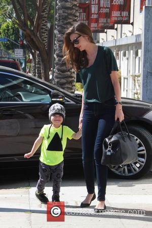Miranda Kerr and Flynn Christopher Blanchard Copeland Bloom