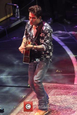 John Mayer - 2013 Crossroads Guitar Festival at Madison Square Garden - New York City, NY, United States - Friday...
