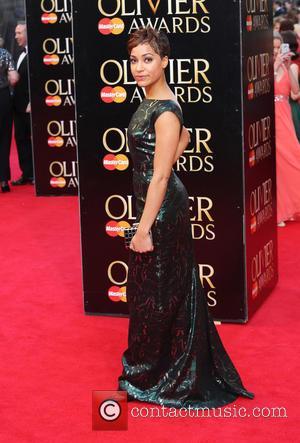 Cush Jumbo - The Laurence Olivier Awards 2014 held at the Royal Opera House - Arrivals - London, United Kingdom...