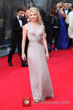 Scarlett Strallen - The Laurence Olivier Awards 2014 held at the Royal Opera House - Arrivals - London, United Kingdom...