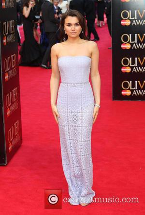 Samantha Barks - The Laurence Olivier Awards 2014 held at the Royal Opera House - Arrivals - London, United Kingdom...