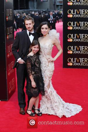Zrinka Cvitesic and Guests - The Laurence Olivier Awards 2014 held at the Royal Opera House - Arrivals - London,...