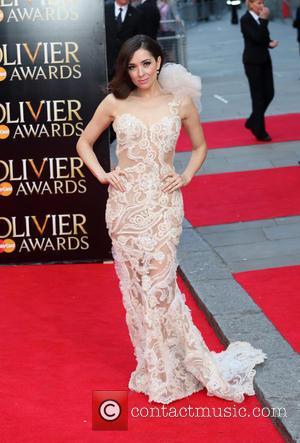Zrinka Cvitesic - The Laurence Olivier Awards 2014 held at the Royal Opera House - Arrivals - London, United Kingdom...