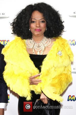 Diana Ross - Broadway opening night of Motown:The Musical at the Lunt-Fontanne Theatre - Arrivals - New York City, United...
