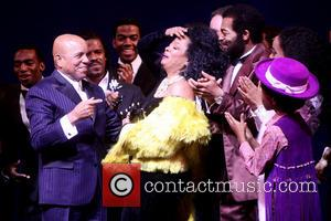 Berry Gordy, Diana Ross, Br, On Victor Dixon, Valisia Lekae and Raymond Luke Jr.