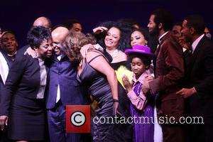 Gladys Knight, Stevie Wonder, Berry Gordy, Mary Wilson, Diana Ross, Valisia Lekae, Raymond Luke Jr., Br and On Victor Dixon
