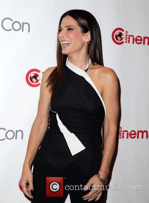 Sandra Bullock Promotes 'The Heat' At Cinemacon, Director Paul Feig Expresses Support For Boston