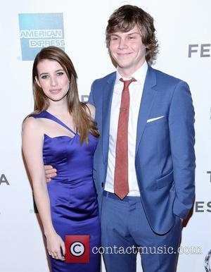 Evan Peters Thought Emma Roberts Was