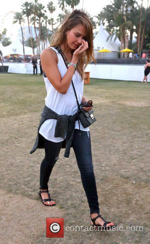 Jessica Alba - Celebrities at the 2013 Coachella Valley Music...