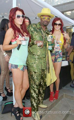 Don 'Magic' Juan, Melissa Howe and Carla Howe - Snoop Lion's 420 mansion party held at a private residence in...