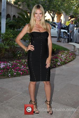 Heidi Klum - 2013 NBCUniversal Summer Press Day at The Langham Huntington Hotel and Spa - Los Angeles, California, United...