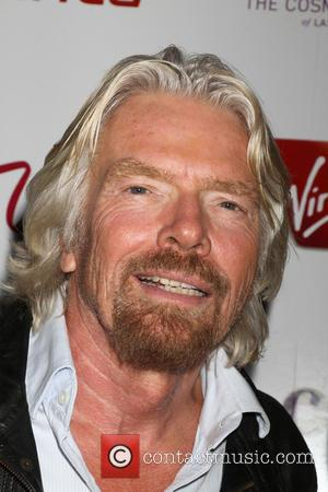 Sir Richard Branson - Virgin America & Sir Richard Branson celebrate...