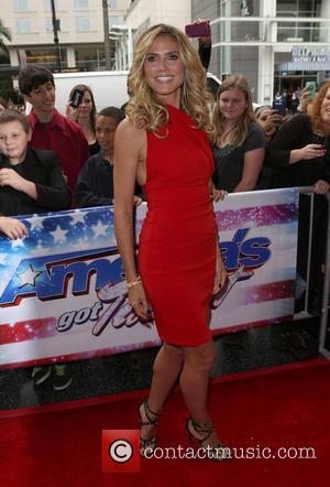 Heidi Klum - 'America's got Talent' Los Angeles Auditions