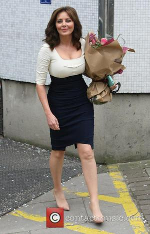 Carol Vorderman - Celebrities seen leaving ITV Studios - London, United Kingdom - Wednesday 24th April 2013