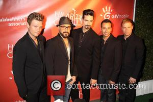 Backstreet Boys, Nick Carter, A.J. McLean, Kevin Richardson, Howie Dorough and Brian Littrell - Hilarity For Charity Benefiting The Alzheimer's...