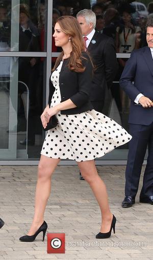 Catherine Duchess of Cambridge - Inauguration of Warner Bros. Studios