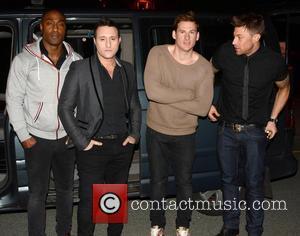 Simon James, Antony Costa, Lee Ryan, Duncan James and Blue