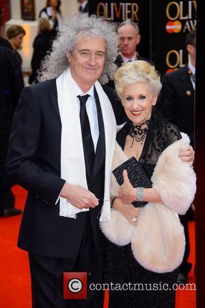 Brian May - The Olivier Awards held at the Royal Opera House - Arrivals - London, United Kingdom - Sunday...