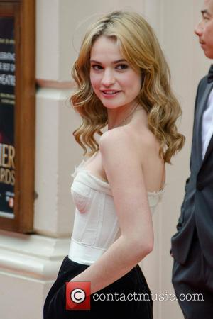 Lily James - The Olivier Awards - Arrivals.