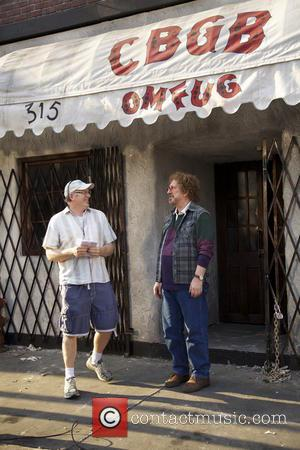 Alan Rickman and Randall Miller - Actors on the set on 'CBGB' - United States - Tuesday 30th April 2013