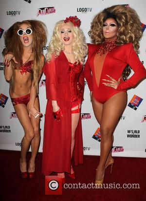 Alaska, Justin Andrew Honard and Jinkx Monsoon - Rupaul's Drag Race Season 5 at the El Portal Theater - Los...