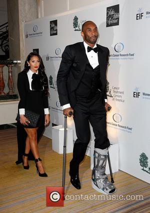 Vanessa Bryant and Kobe Bryant