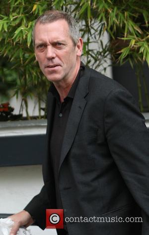 Hugh Laurie - Celebrities outside the ITV Studios - London, United Kingdom - Monday 6th May 2013