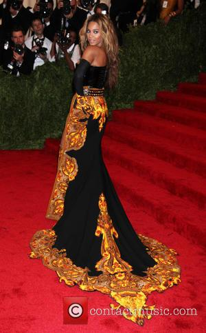 Beyonce knowles - 'PUNK: Chaos to Couture' Costume Institute Gala...