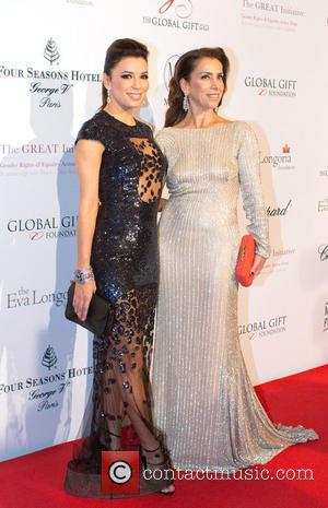 Eva Longoria Honours David Beckham For Philanthropy