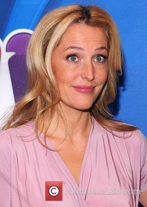 Gillian Anderson - 2013 NBC Upfront Presentation - Arrivals - New York, United States - Monday 13th May 2013