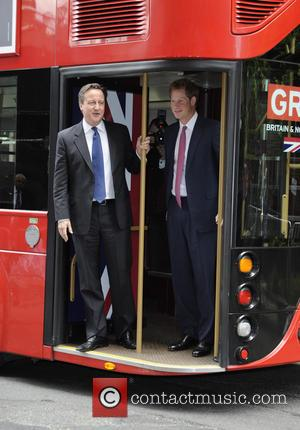 Prince Harry And His Unusual Entourage Tour New Jersey In A Big Red London Bus