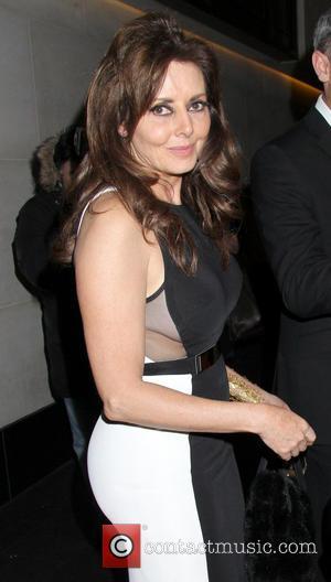 Carol Vorderman - Celebrities seen leaving The Inspiration Awards at the Intercontinental Hotel - departures - London, United Kingdom -...