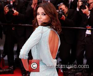 Eva Longoria Suffers Wardrobe Malfunction In Cannes