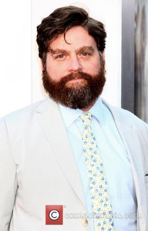 Zach Galifianakis' Homeless Woman Date For Hangover Iii Premiere