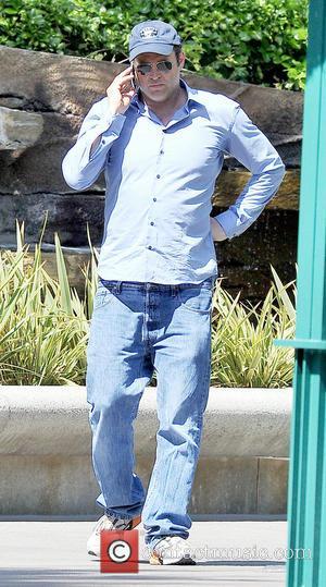 Vince Vaughn - Vince Vaughn takes his family to Disneyland...