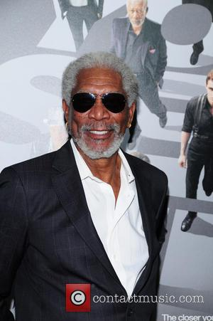 Morgan Freeman - New York Premiere of 'Now You See...