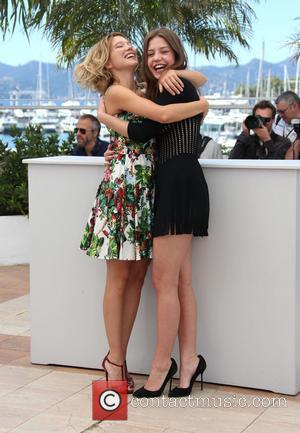 Lea Seydoux and Adele Exarchopoulos - 66th Cannes Film Festival - La Vie D'Adele - Chapitre 1 & 2 -...