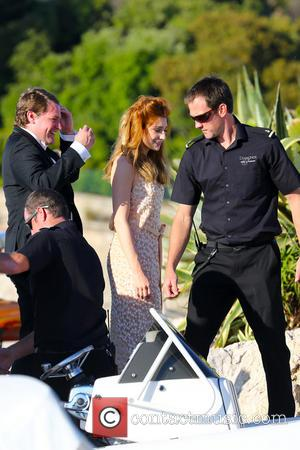 Nicola Roberts and Charlie Fennell - Nicola Roberts and boyfriend, Charlie Fennell leave the luxurious yacht 'Diamonds are Forever' to...