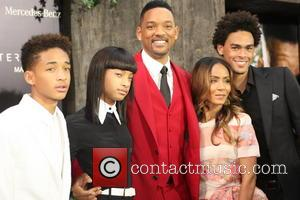 Jaden Smith, Willow Smith, Will Smith, Jada Pinkett-smith and Trey Smith