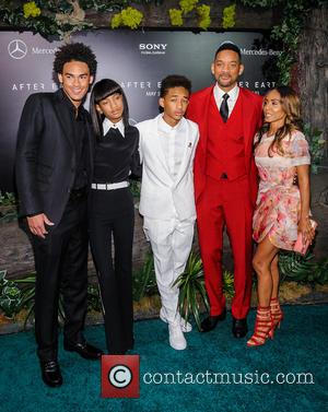 Willow Smith, Jaden Smith, Will Smith and Jada Pinkett-smith